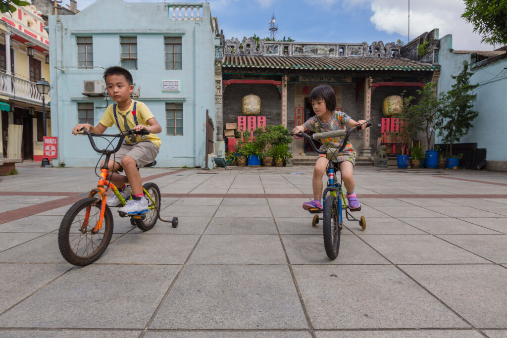 Taipa Village Macau Bike Rides