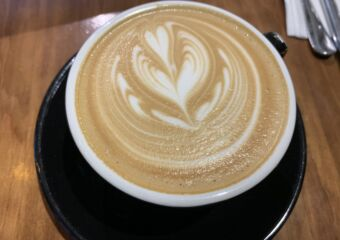 Terra coffee house Macau latte