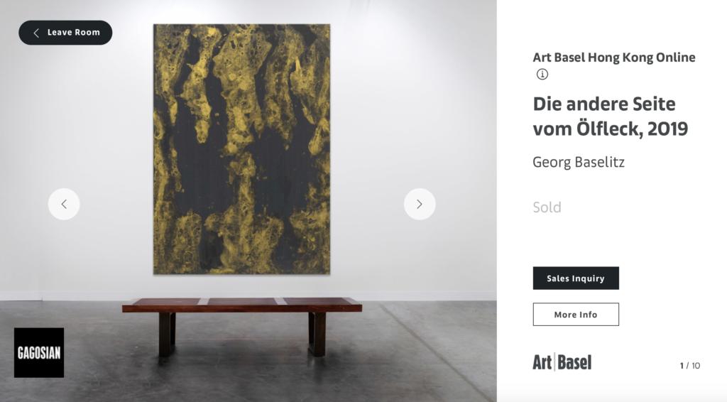 art basel online gargosian die andere seite vom olfleck