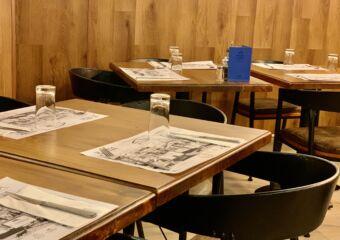 Boa Mesa Restaurant Tables Set on the Corner Macau Lifestyle