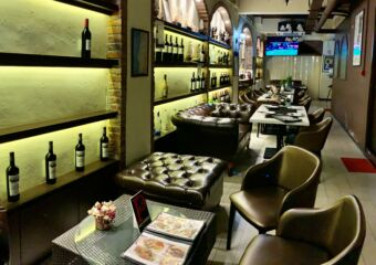 Cathedral Cafe Restaurant Downstairs Seating Area Macau Lifestyle