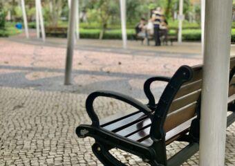 Dr Carlos DAssumpcao Garden Blurred Chair Macau Lifestyle