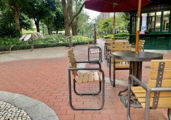 Dr Carlos DAssumpcao Garden Seating Area Close Up Macau Lifestyle