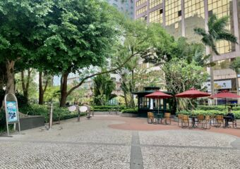 Dr Carlos DAssumpcao Garden Seating Area Macau Lifestyle