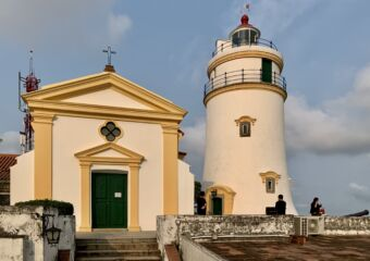 Guia Fortress Church and Lighthouse Macau Lifestyle