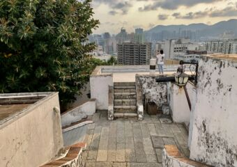 Guia Fortress First Floor from Top Macau Lifestyle