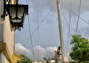 Guia Fortress Lamp Close Up Macau Lifestyle