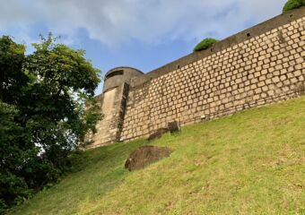 Guia Fortress Outdoor from Below Macau Lifestyle