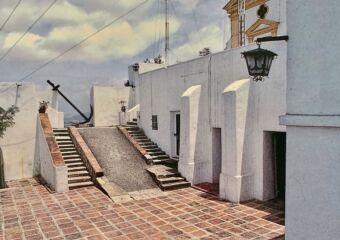 Guia Fortress Staircase Exterior Credits Alvaro Tavares Published in 1988 by the Macau Cultural Institute