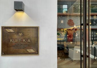Kafka Frontdoor Plaque Macau Lifestyle
