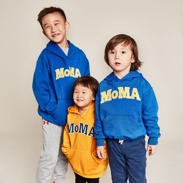 Kids Champion x MoMA Hoodies (HKD428) -5