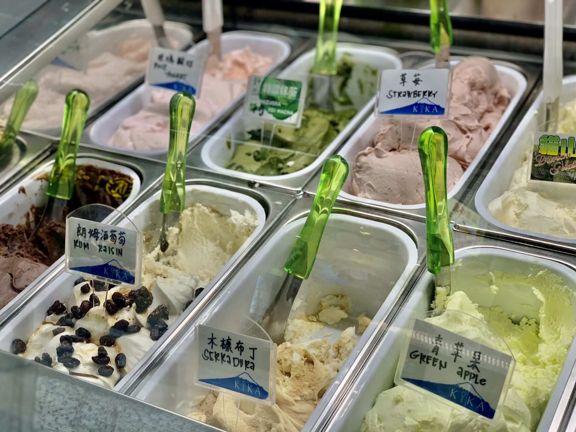 Kika Gelato Showroom Ice Creams Macau Lifestyle