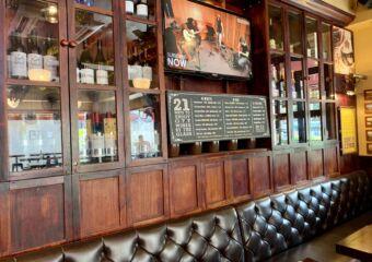 Old Taipa Tavern OTT Interior Seating Area with Cupboard Behind Macau Lifestyle
