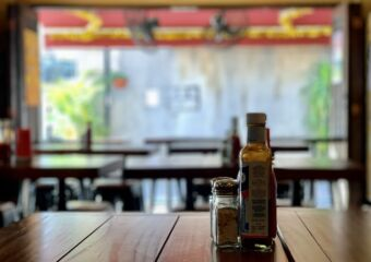 Old Taipa Tavern OTT Interior Table with Outdoor Background Macau Lifestyle