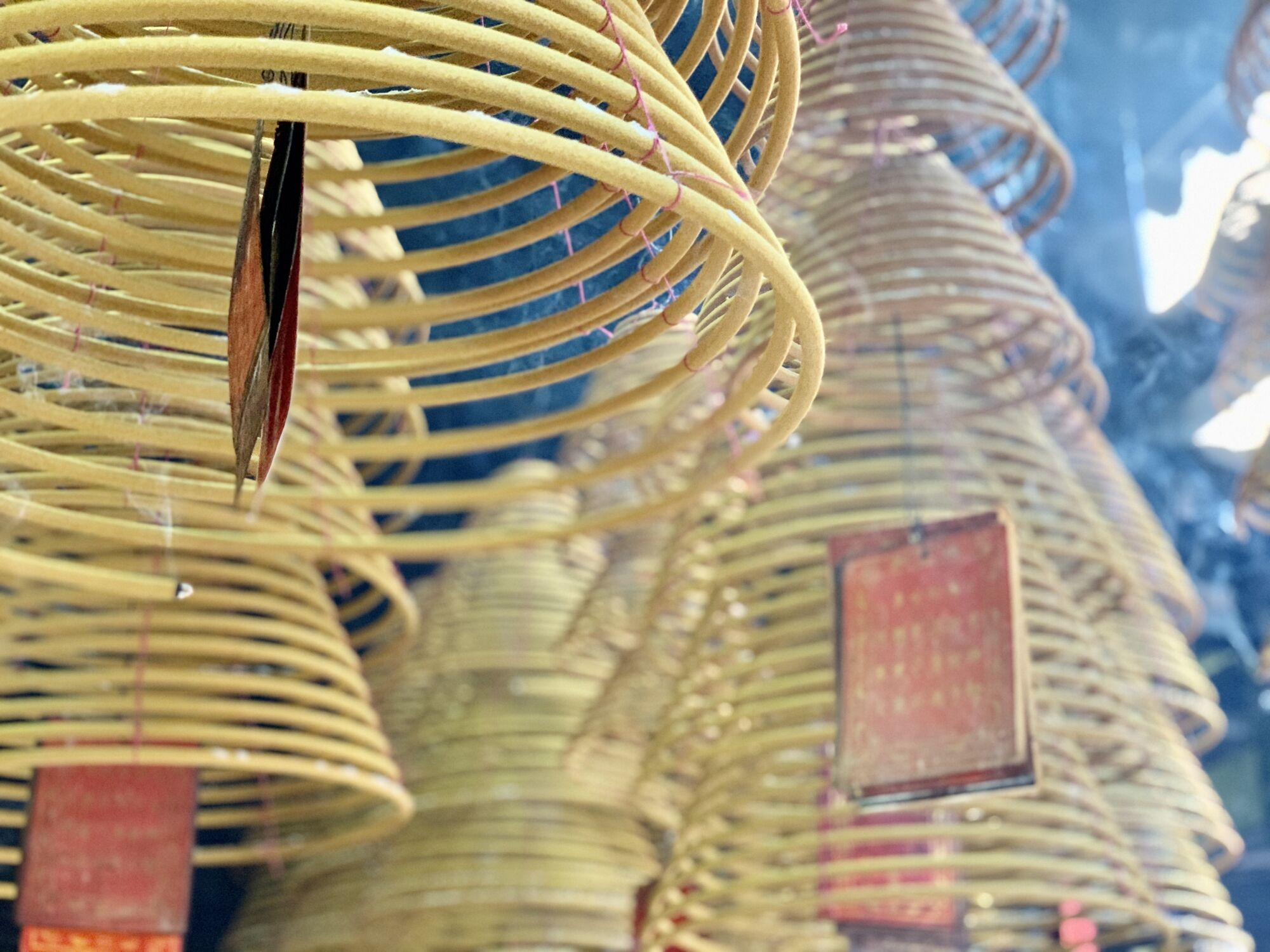 Pak Tai Temple Burning Incense Macau Lifestyle