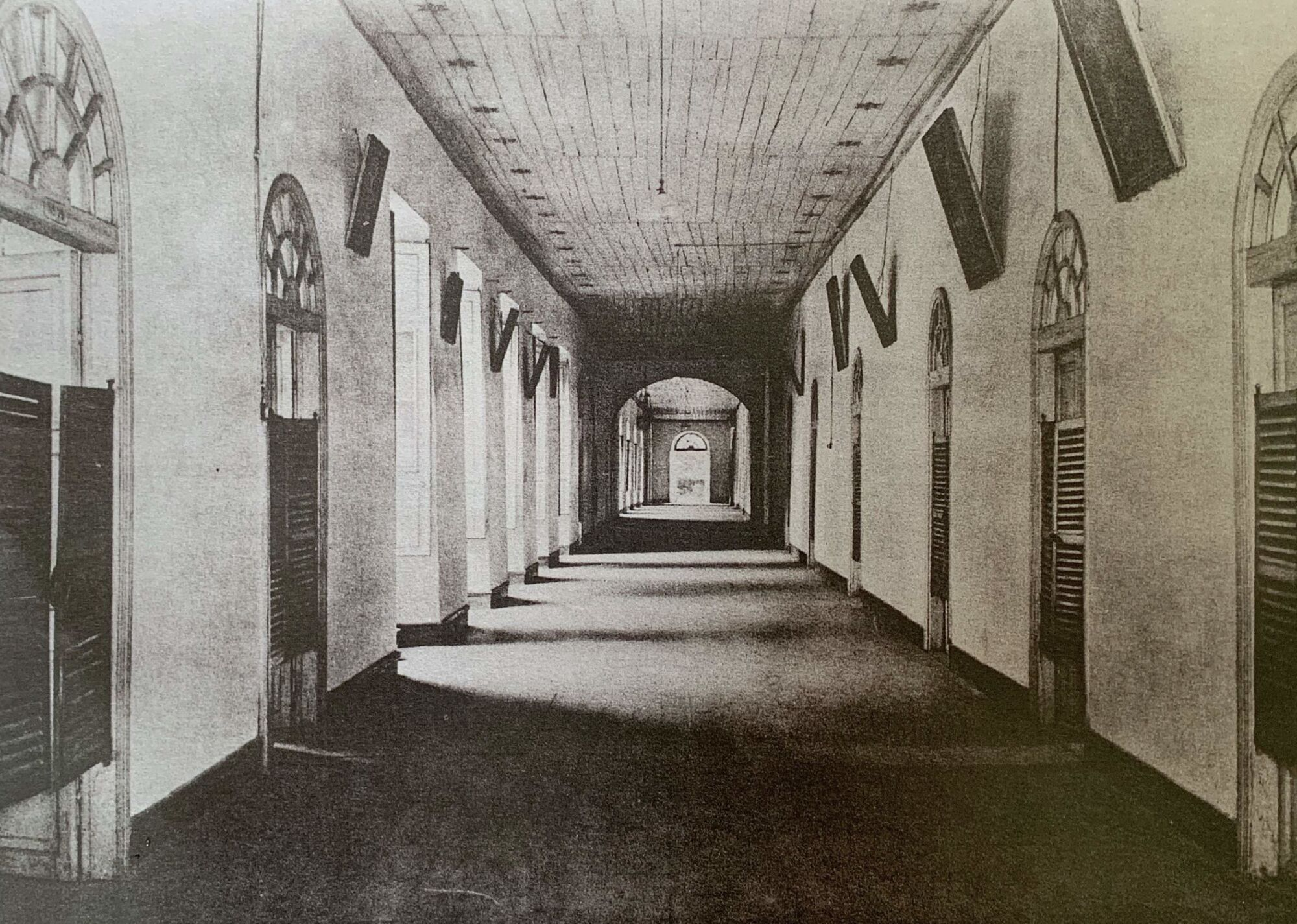 Portuguese Consulate that was a Hospital Hall Credits Macao Archives