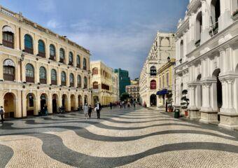 Senado Square Wide Photo Macau Lifestyle