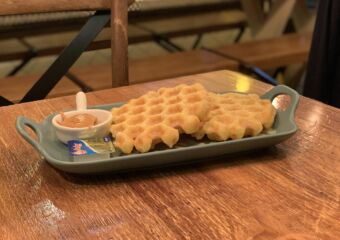 TOFF Cafe Waffles on the Table Macau Lifestyle