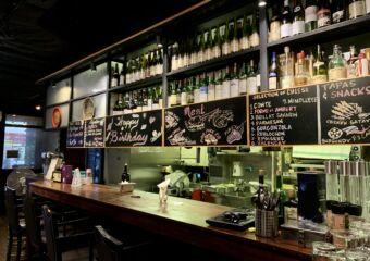 Taipa Cafe Counter with Bottles Macau Lifestyle