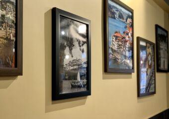 Toca Restaurant Interior Frames on the Wall Macau Lifestyle