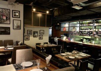 Taipa Cafe Interior Wide with Counter Macau Lifestyle