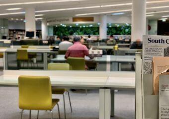 Taipa Central Library Reading Area Macau Lifestyle