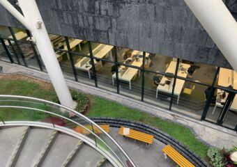 Taipa Central Park Library from Top Macau Lifestyle