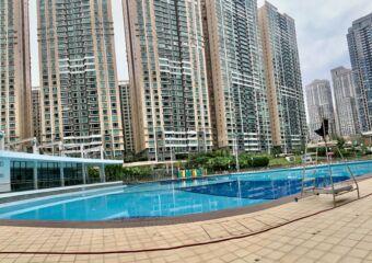 Taipa Central Park Pool Macau Lifestyle