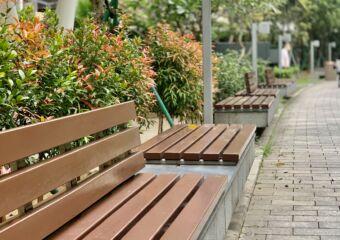 Taipa Central Park Seating Areas Macau Lifestyle