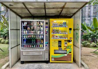 Taipa Central Park Snacks Machines Macau Lifestyle