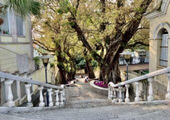 Taipa Village old street stairs
