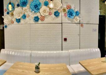 Take a Break Interior Flowers on the Wall Decor Macau Lifestyle