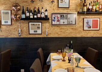 Toca Restaurant Wine Bottles and Decor Macau Lifestyle