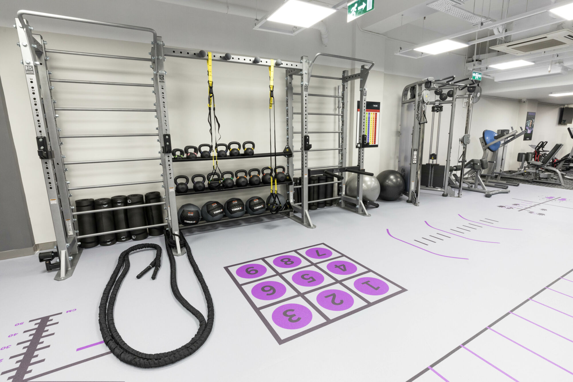 anytime fitness gym equipment machines macau gyms