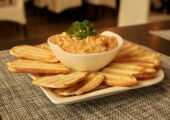 mariazinha portuguese restaurant macau toasted bread with crab stuffing
