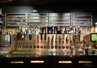 Agora Bar Beers on Tap Behind the Counter Macau Lifestyle