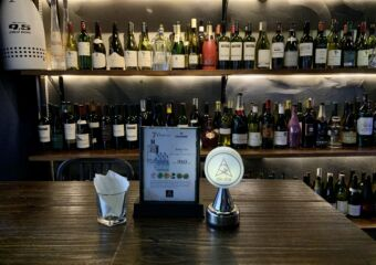 Agora Bar Bottles in the Background Macau Lifestyle