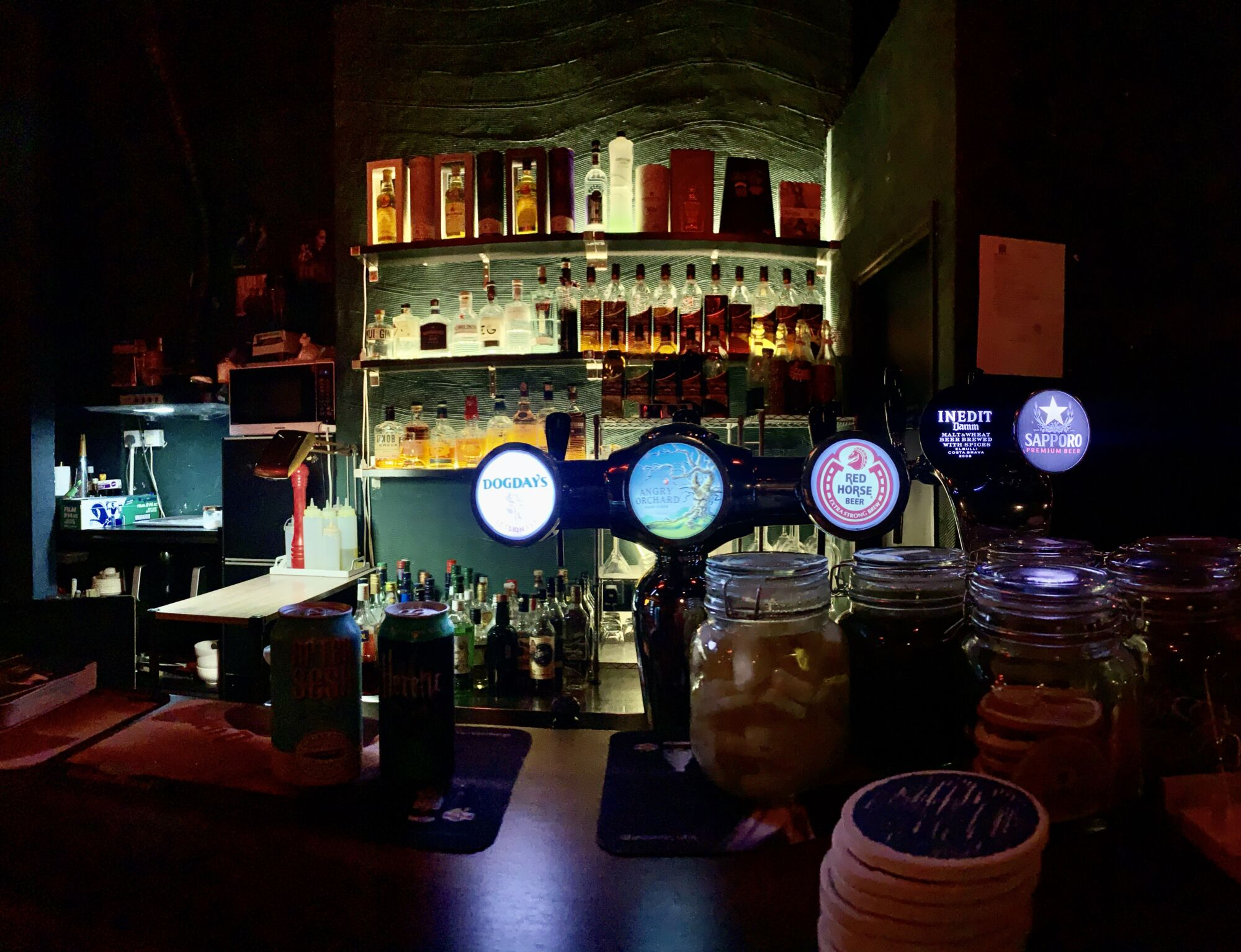 Beers on Tap at Breathers Bar Taipa Macau Lifestyle