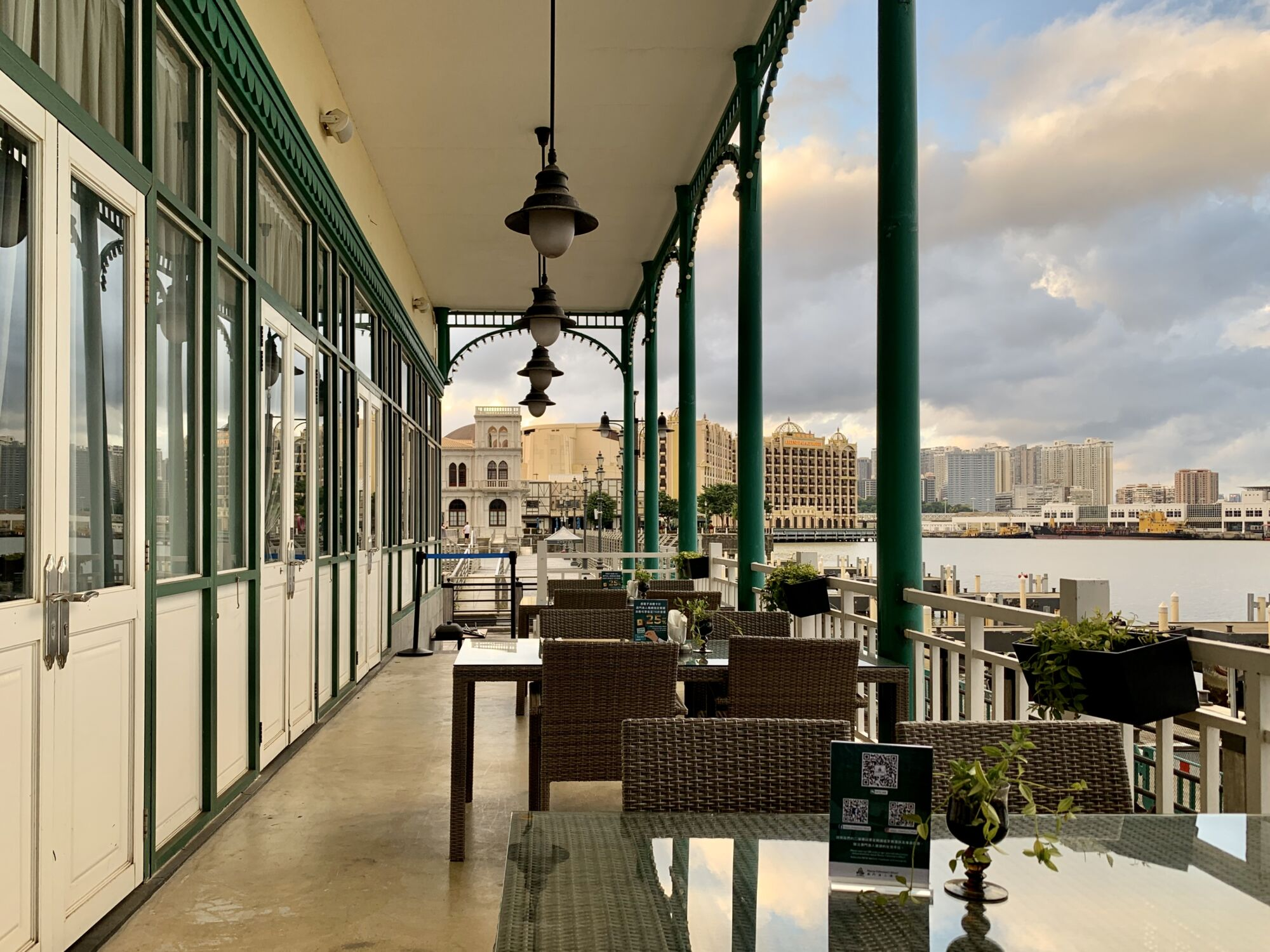 Capriccio Fishermans Wharf Outside Terrace Area Macau Lifestyle