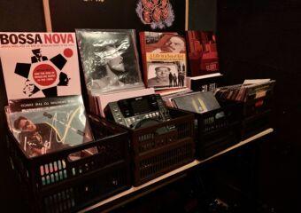 Corner with Vinyls Breathers Bar Taipa Macau Lifestyle