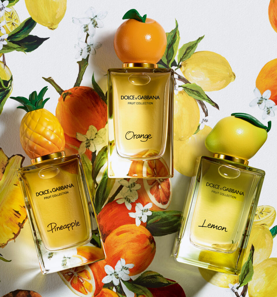 dolce and gabbana fruit collection best summer scents