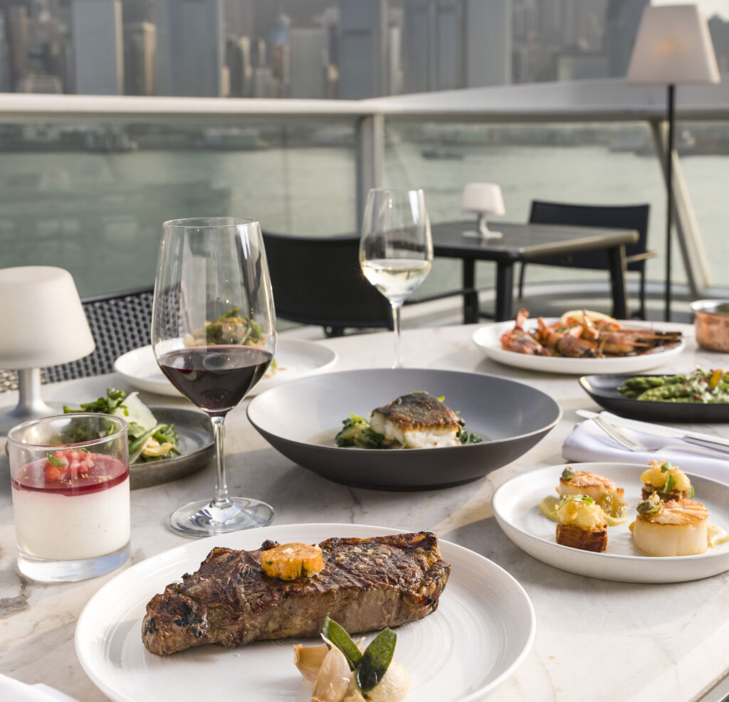 Harbourside Grill Terrace Menu Alfresco Dining june hong kong