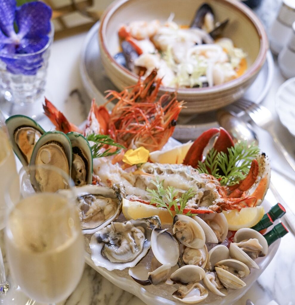 The Ritz-Carlton Café – Seafood options of Mother's Day Brunch