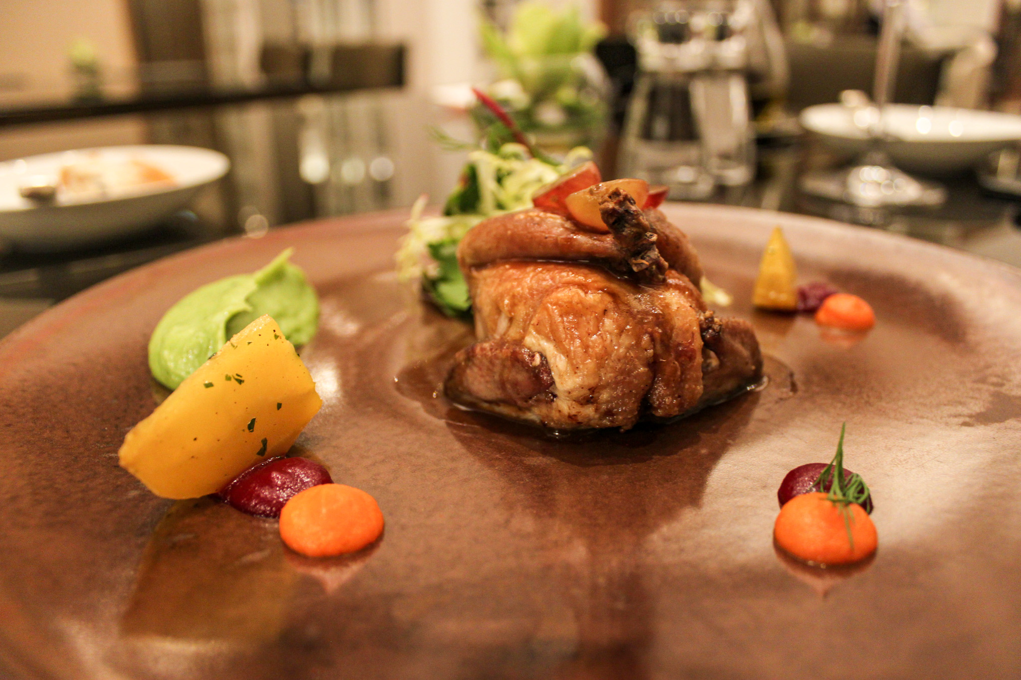 french quail let's have lunch in spring the manor st regis macao