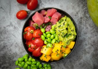 healthy habits superfood cafe poke bowl macau