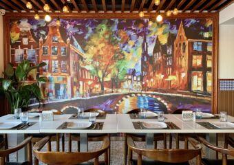 1826 Restaurante Tennis Club Indoor Decorative Wall Macau Lifestyle