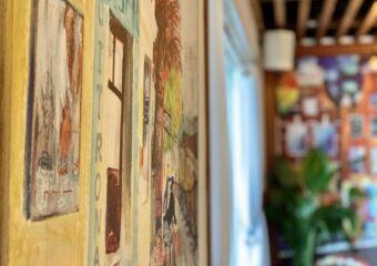 1826 Restaurante Tennis Club Indoor Wall Painting Macau Lifestyle