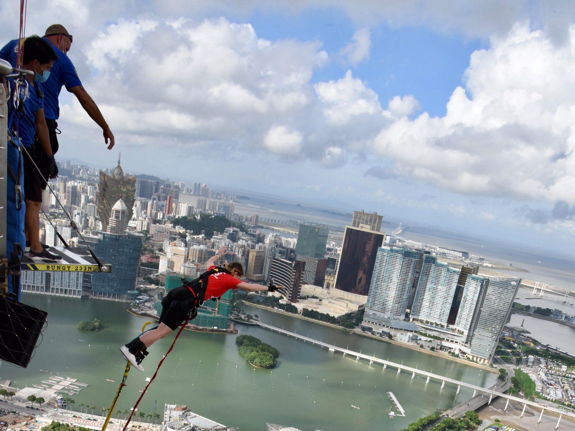 AJ Hackett Macau Bungy Jump Macau Lifestyle giveaway