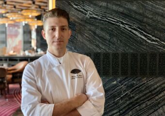 Chef Marco De Boni Mandarin Oriental Looking to the Camera Macau Lifestyle