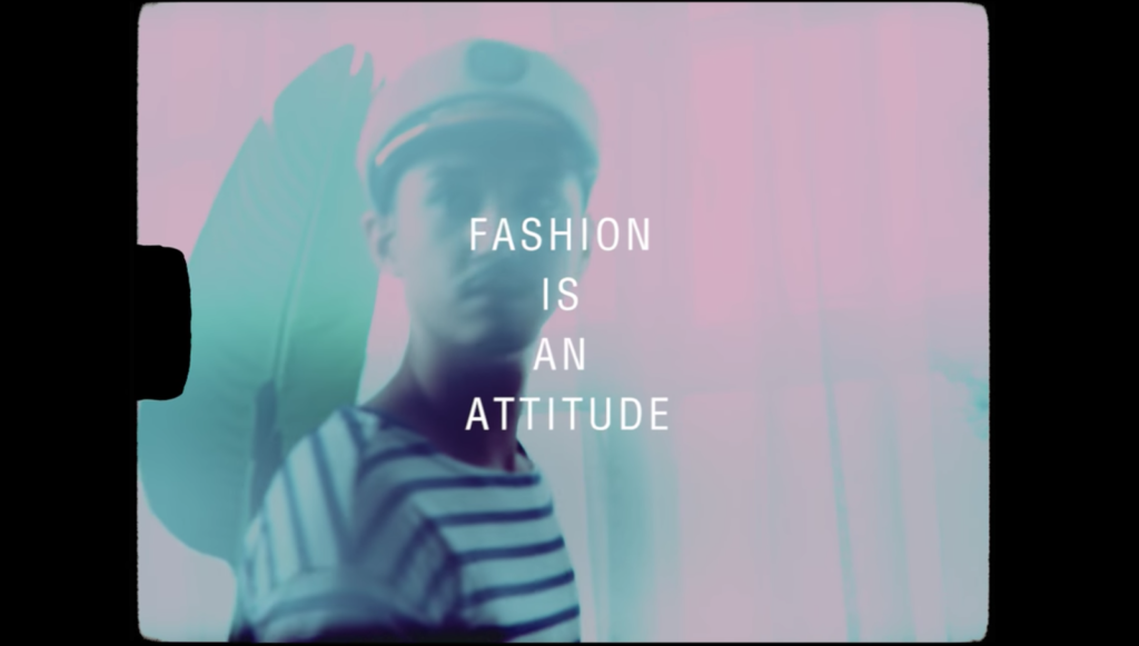 Fashion is an attitude cinematheque passion